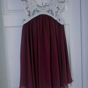Altar'd State Babydoll Dress
